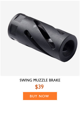 Swing Muzzle Brake