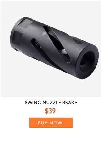 Swing Muzzle Brake