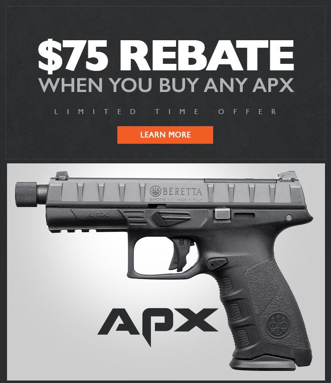 Get $75 Back When You Buy an APX