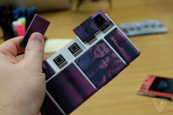Swapping Modular Phone: Google's latest modular smartphone prototype