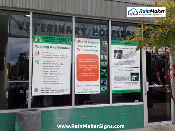 Loyal-Family-Veterinary-Hospital-Window-Clings-RainMaker-Signs.jpg