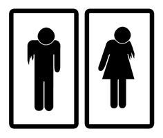Spooky Restroom Signs That Will Scare The Out Of You