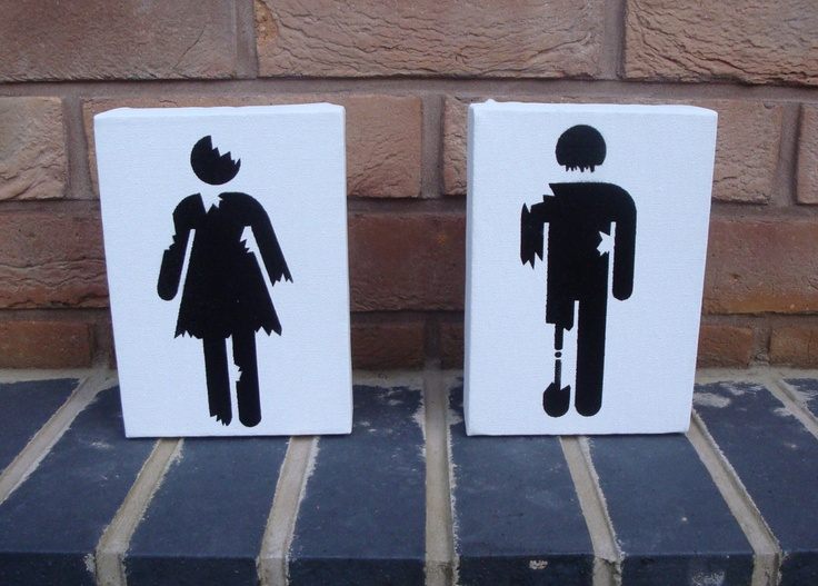 Spooky Restroom Signs that Will Scare the _____ Out of You
