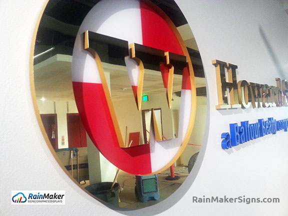 Howard-S-Wright-Lobby-Sign-Logo-Detail-RainMaker-Signs