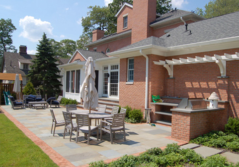 A beautiful patio designed by G&L and Sons Renovations