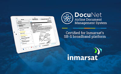 Vistair Airline Document Management Application Certified for Inmarsat's SB-S Broadband Platform
