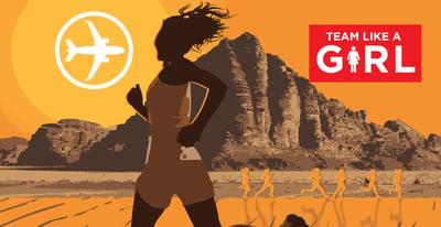 Vistair Supports Team Like A Girl in Wadi Rum Ultra Marathon Challenge