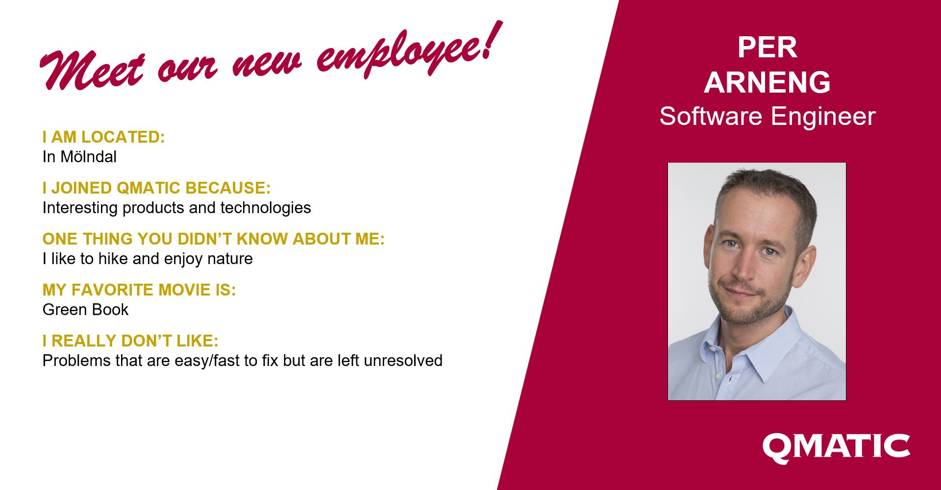 Per software engineer qmatic