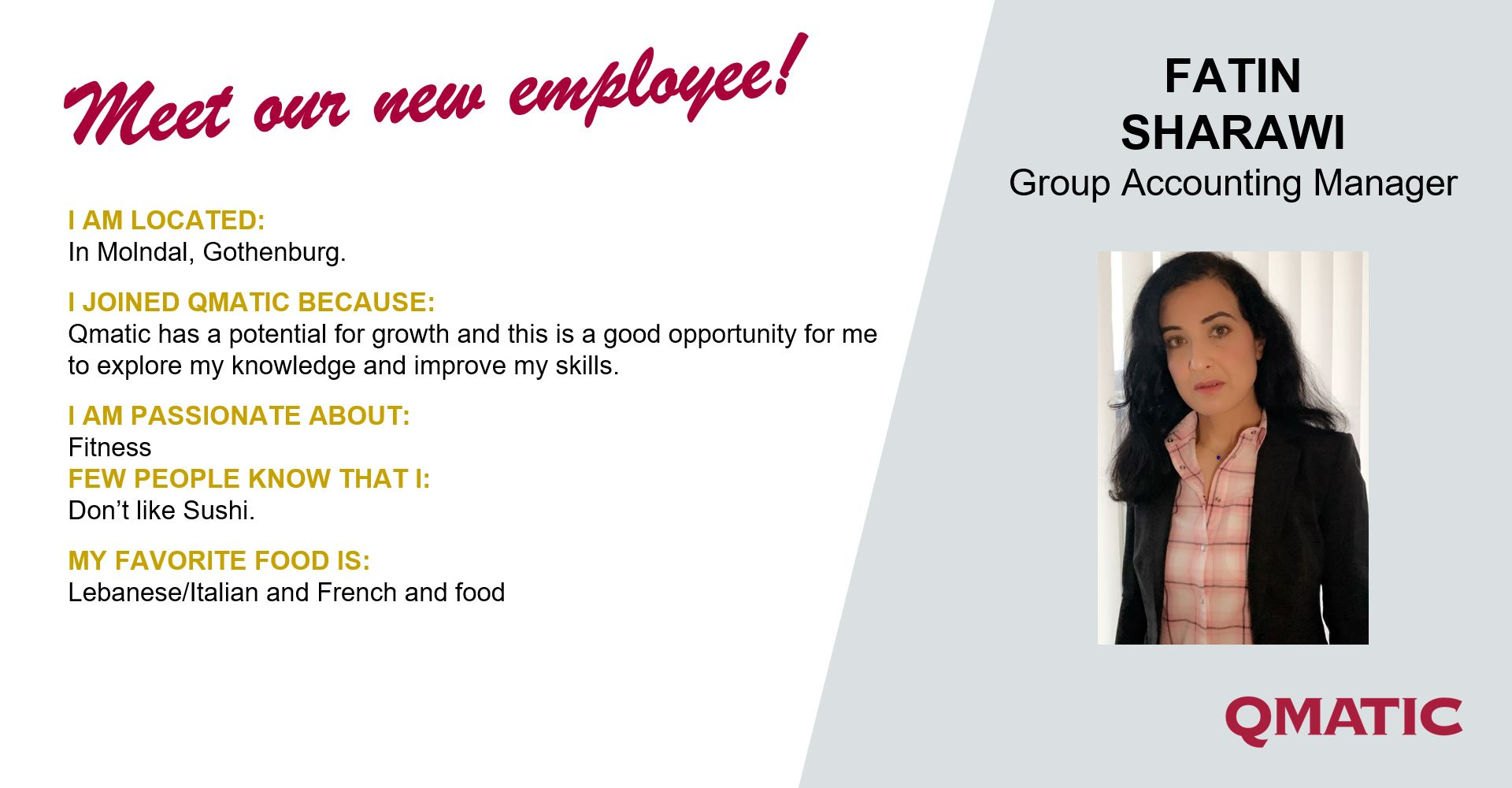 New group account manager Fatin
