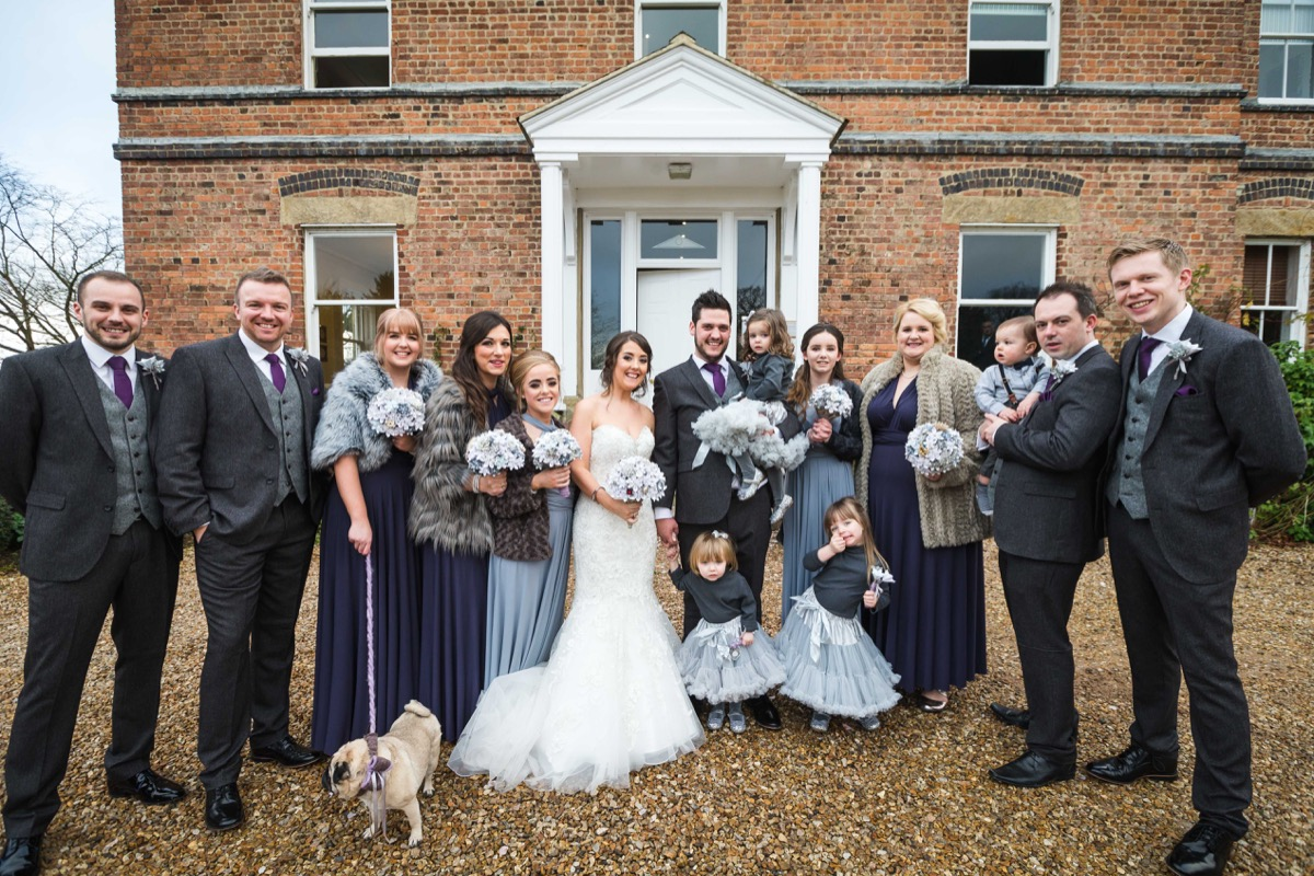 Wedding party Shottle