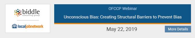 OFCCP Webinars