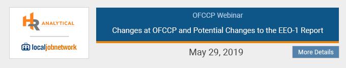 OFCCP Webinar