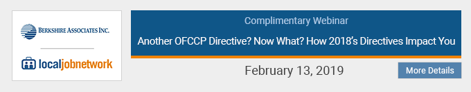 Another OFCCP Directive? Now What? How's 208 Directives Impact You