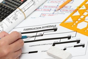 Construction Schedule   A.C.E. Building Service