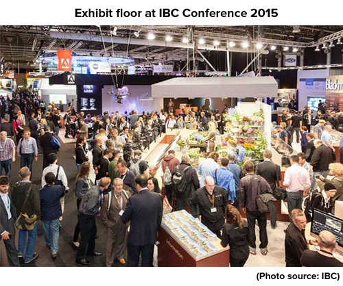 IBC SPOTLIGHT -  THE FUTURE OF MEDIA CONTENT
