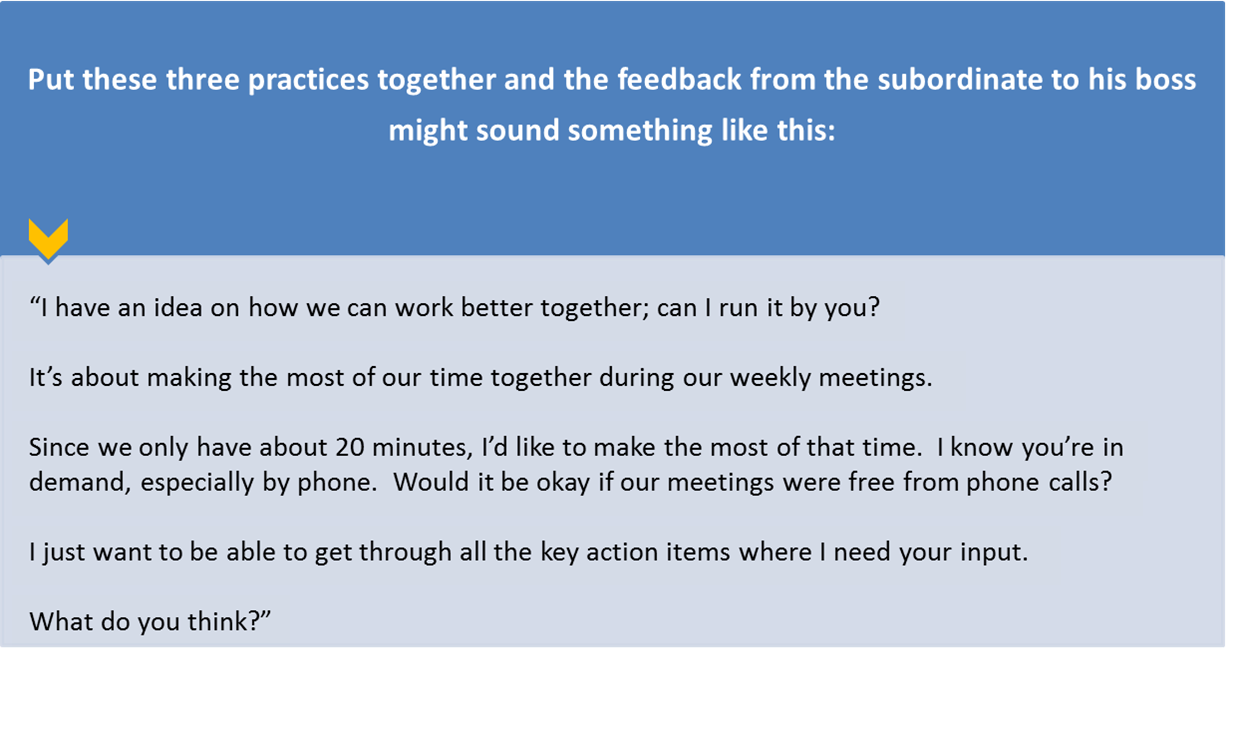 how to ask for feedback from your boss