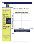 talent review tool