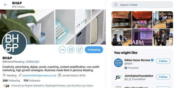 Using Twitter to build trust and brand awareness