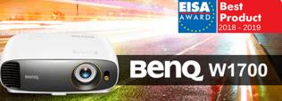 Proyector BenQ W1700 logra premio europeo: EISA Best Buy Projector 2018-2019