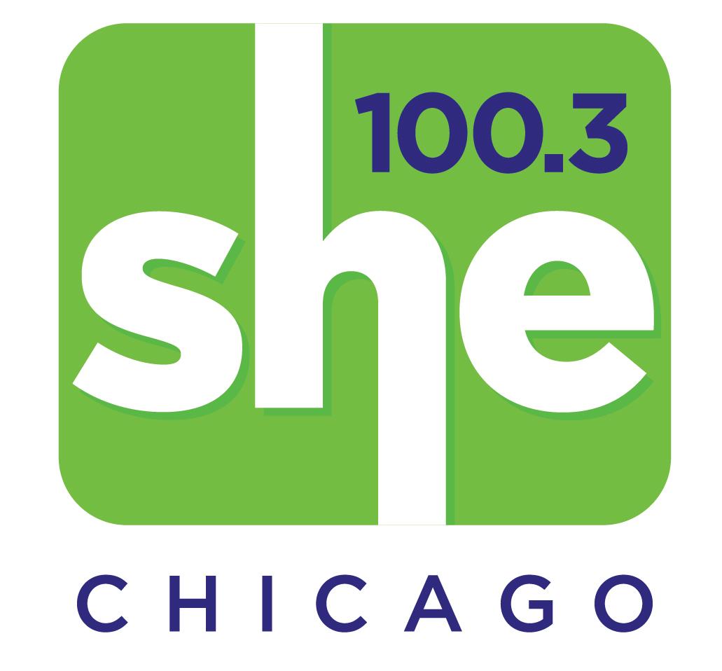 100.3 wshe chicago logo