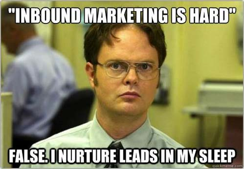 Inbound Marketing Is Hard