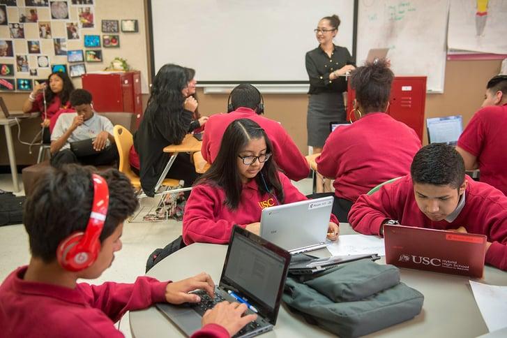 Alumnos de escuelas chárter Ednovate podrán aplicar para una beca completa en la universidad privada USC