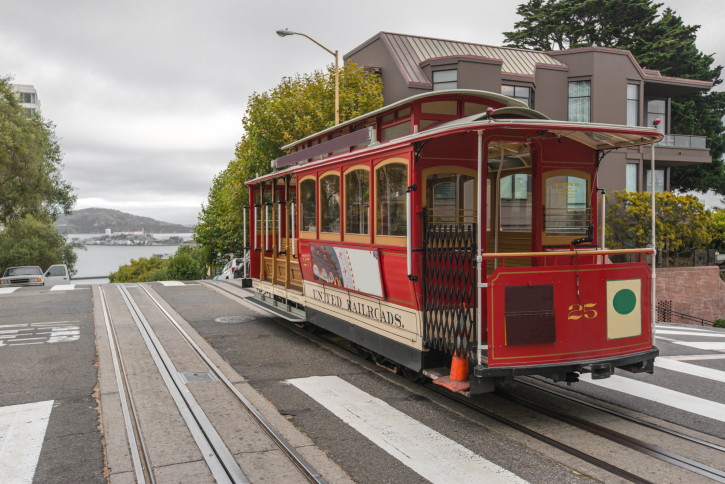 San_Francisco_Trolley_Car_Fine_Travel_Holiday