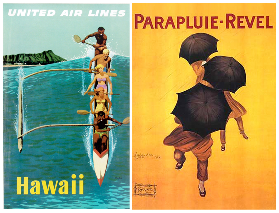 Hawaii Holidays - Vintage Posters in Maui