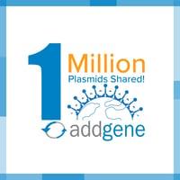 1 million plasmids shared