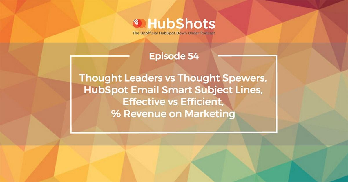 HubShots Episode 54