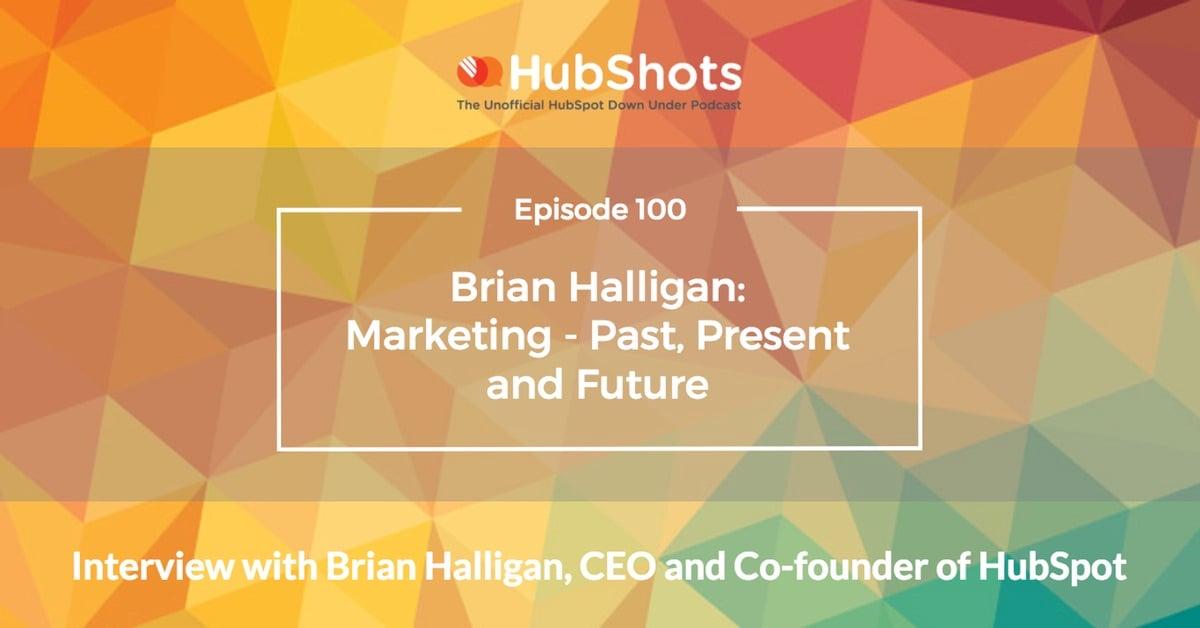 Interview with Brian Halligan
