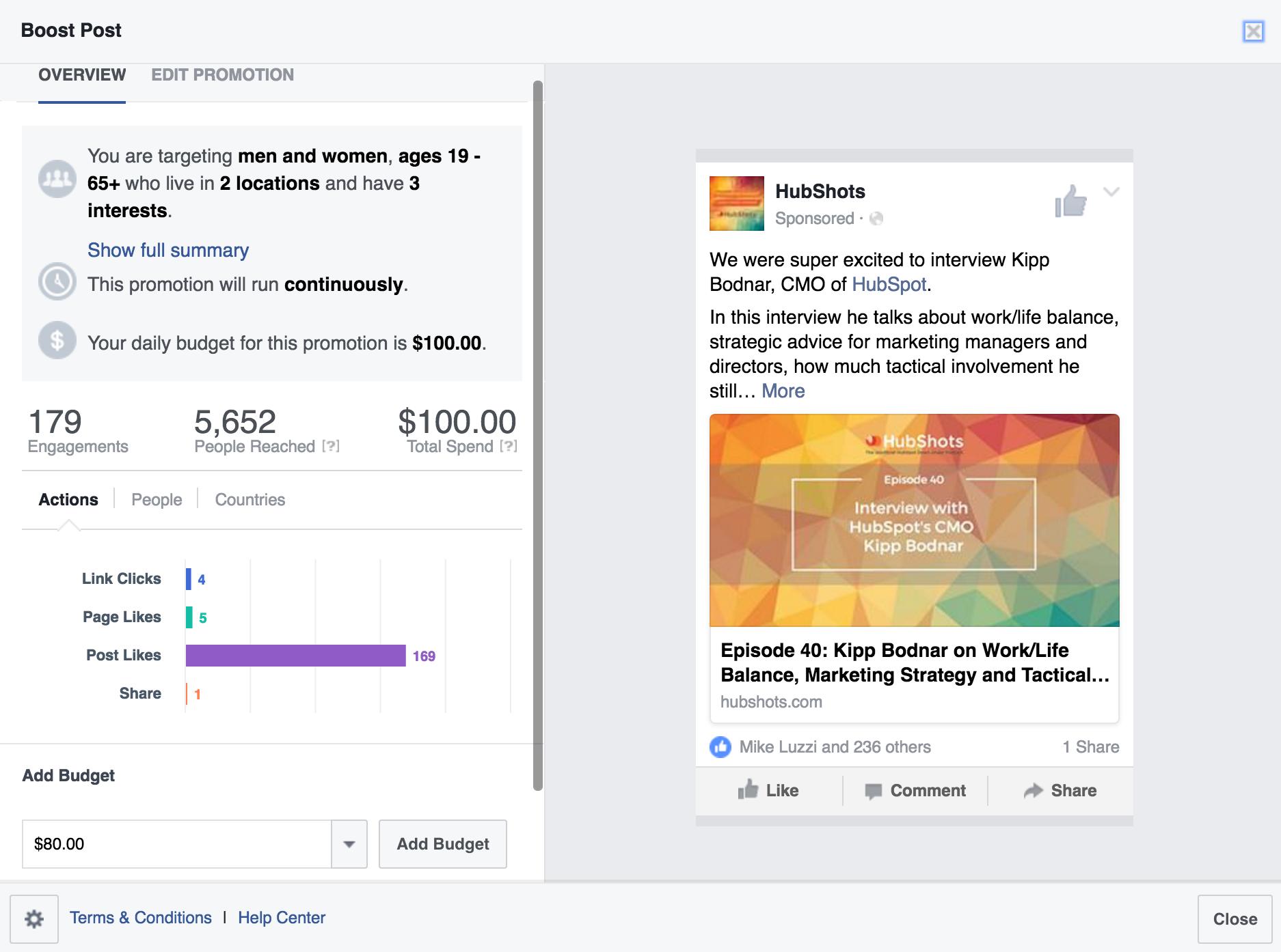 Facebook Marketing Fail!