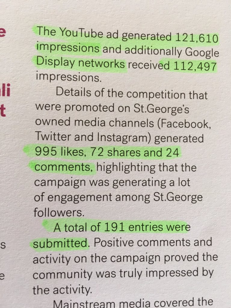 Social vanity metrics