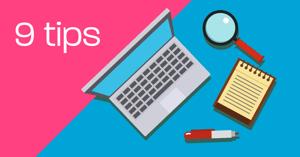 9 tips for å skrive blogg
