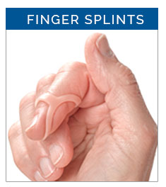 Finger splints from 3-Point Products