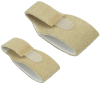 3pp Toe Loops - The unique cushioning of our foam-lined material makes these straps ideal for correcting crooked or rotated toes.