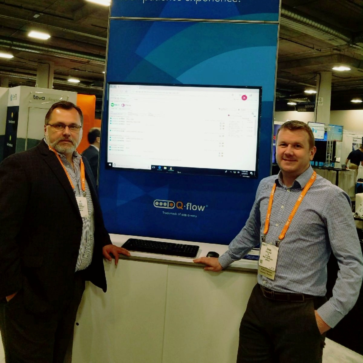 ACF and Q-nomy at HIMSS 2018