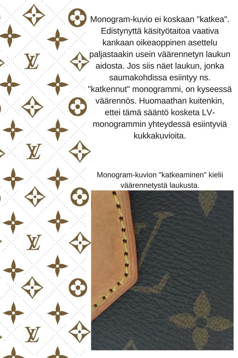 Louis Vuitton Aito Laukku : I sarjat