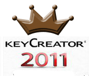 KeyCreator 2011 with a crown