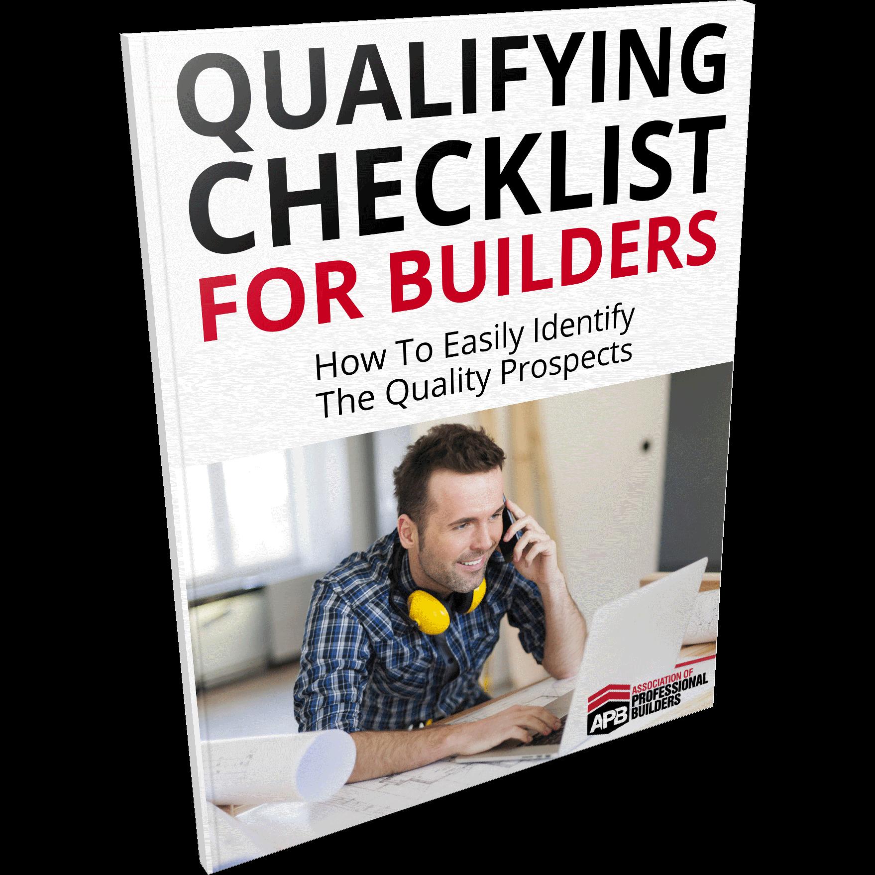 checklist ebook apb builders