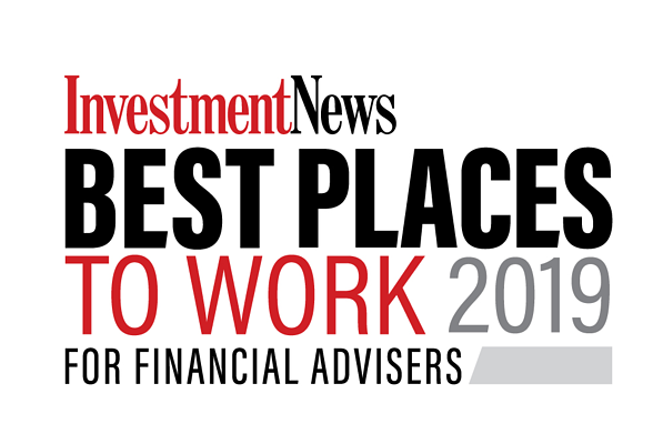 Named a 2019 Best Places to Work for Financial Advisers by InvestmentNews