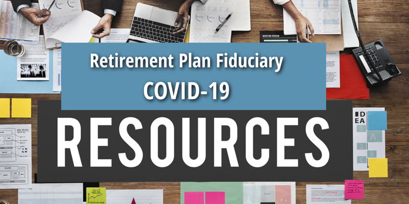 New COVID-19 and CARES Act Resources