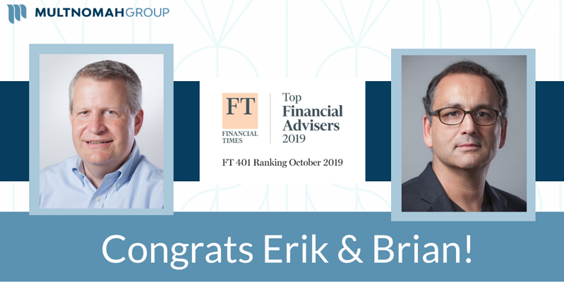 Daley & Montanez Named to 2019 Financial Times 401 Top Retirement Advisers