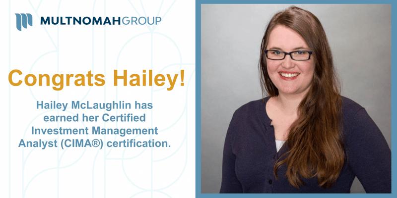 McLaughlin Earns CIMA® Certification