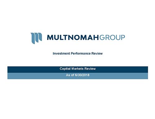 2nd Quarter 2018 Market Update