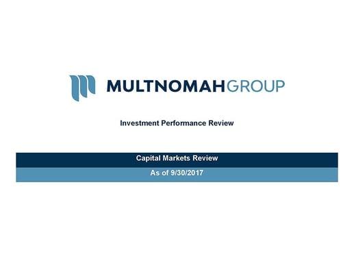 3rd Quarter 2017 Market Update