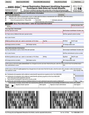 Understanding & Responding to Participant Inquiries - Form 8955-SSA