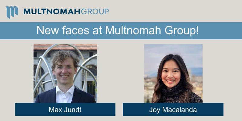 Multnomah Group Extends Warm Welcome to New Team Members