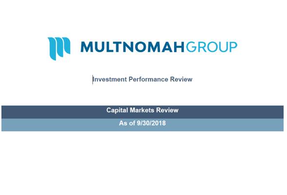 3rd Quarter 2018 Market Update