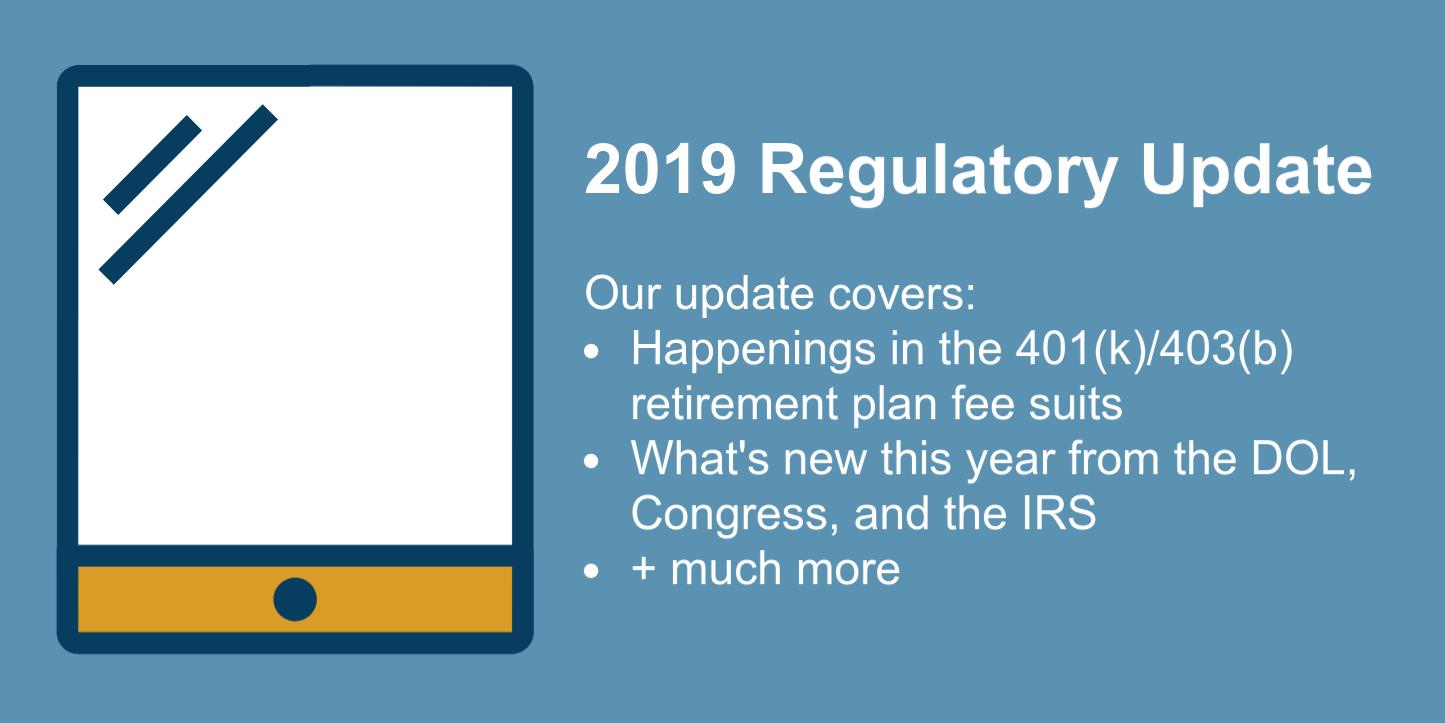 Regulatory Update: DOL Focus
